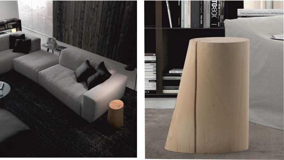 Журнальный столик Den от итальянской фабрики Jesse из массива дерева итальянская мебель в Одессе