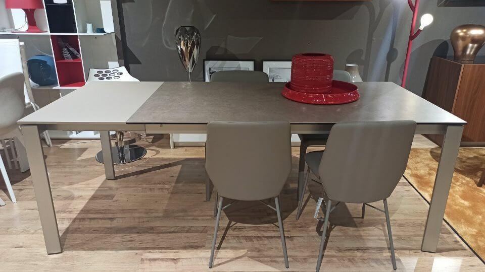 Стол обеденный раскладной Eminence от итальянской фабрики Connubia итальянская мебель в Одессе
