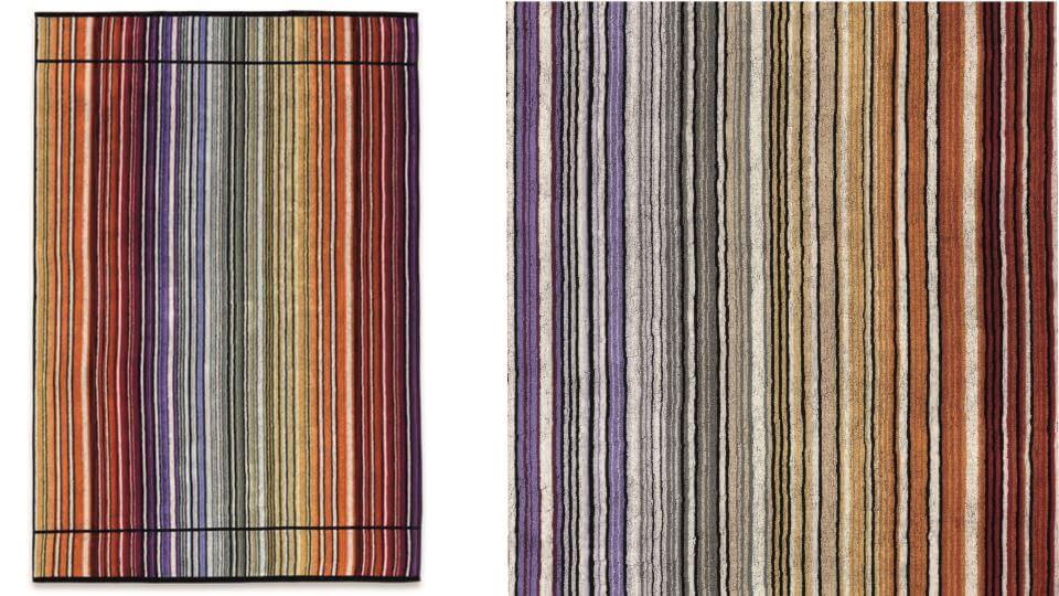 Полотенце пляжное Tabata от итальянской фабрики Missoni Home из 100% хлопка. Габариты ш 100 см x д 180 см итальянская мебель в Одессе