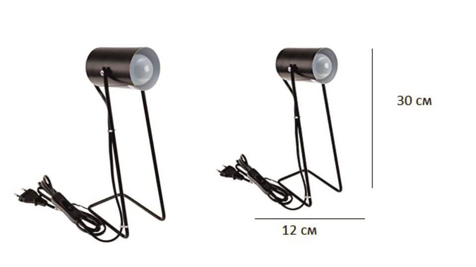 Лампа настольная Incidence Metal Retro от французской фабрики Gautier из металла. Габариты: ш 12 см * г 8.5 см * в 30 см итальянская мебель в Одессе