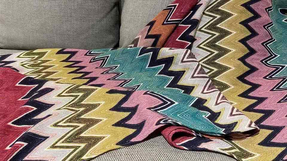Плед Tibaldo от итальянской фабрики Missoni Home. Размер: ш 140 см x д 180 см итальянская мебель в Одессе