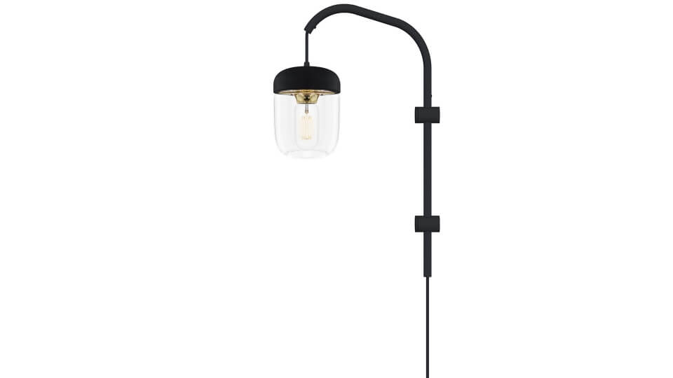 Светильник подвесной Vita Willow от французской фабрики Gautier с одной лампочкой и стеклянным плафоном, крепится к стене. Габариты: в 50 см итальянская мебель в Одессе