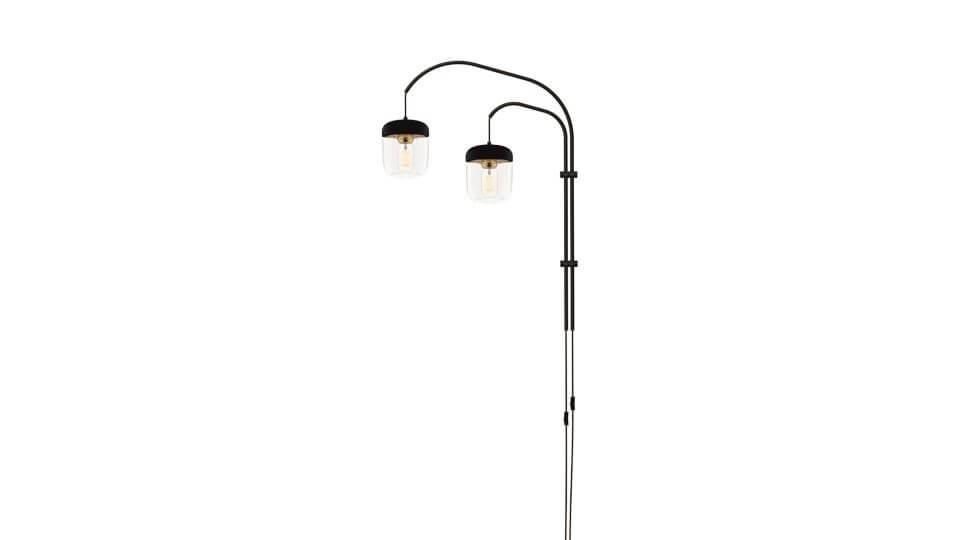Светильник Vita Willow Double от французской фабрики Gautier с двумя лампочками, крепится к стене. Габариты: в 123 см итальянская мебель в Одессе