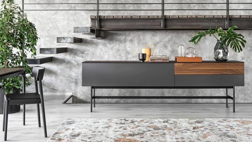 Комод/тв тумба/буфет Manhattan от итальянской фабрики Calligaris итальянская мебель в Одессе