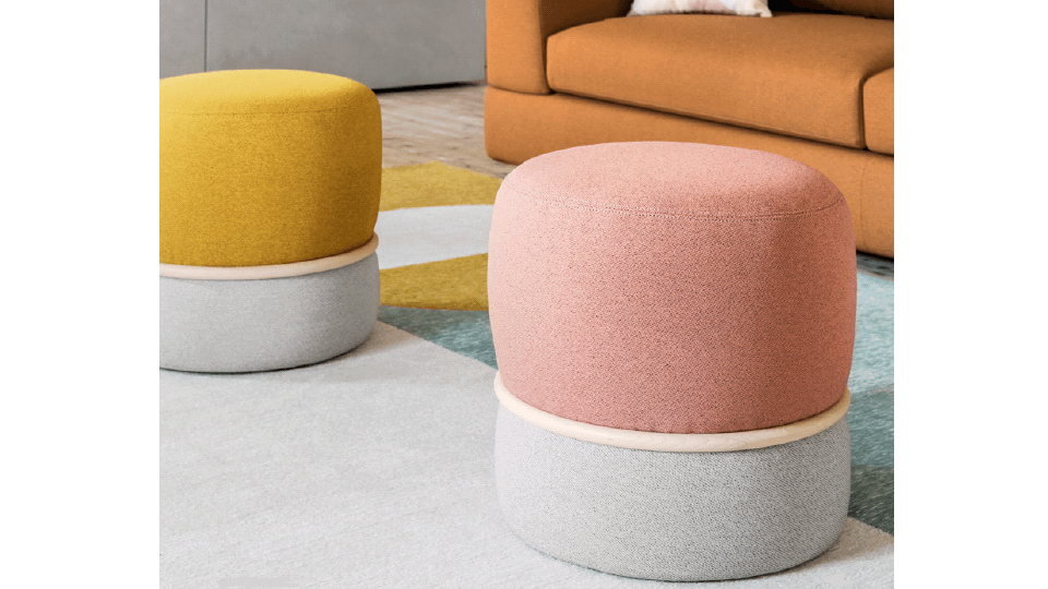 пуф Anell от итальянской фабрики Calligaris итальянская мебель в Одессе