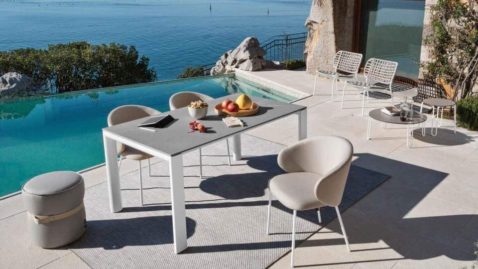 Стол обеденный Dorian с раскладкой прямоугольной формы итальянская мебель в Одессе