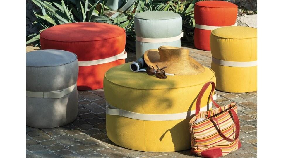Мягкий пуф Pof от итальянской фабрики Connubia итальянская мебель в Одессе