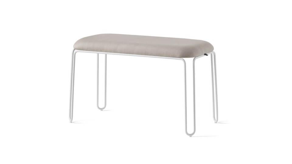 Скамья Stulle имеет каркас из металлических стержней, обработанный и покрытый для использования на открытом воздухе итальянская мебель в Одессе