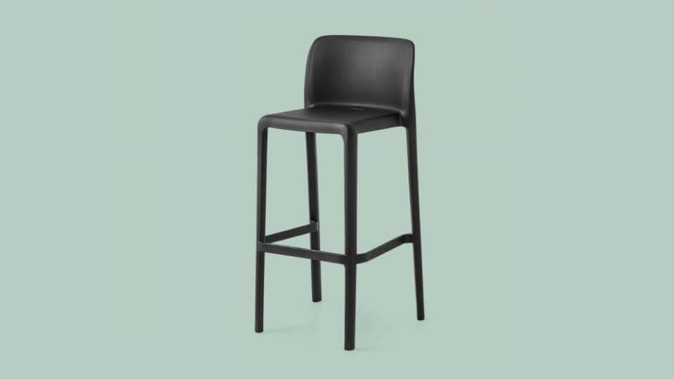 Барный стул Bayo из полипропилена итальянская мебель в Одессе