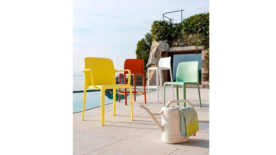 Обеденный стул Bayo из полипропилена итальянская мебель в Одессе