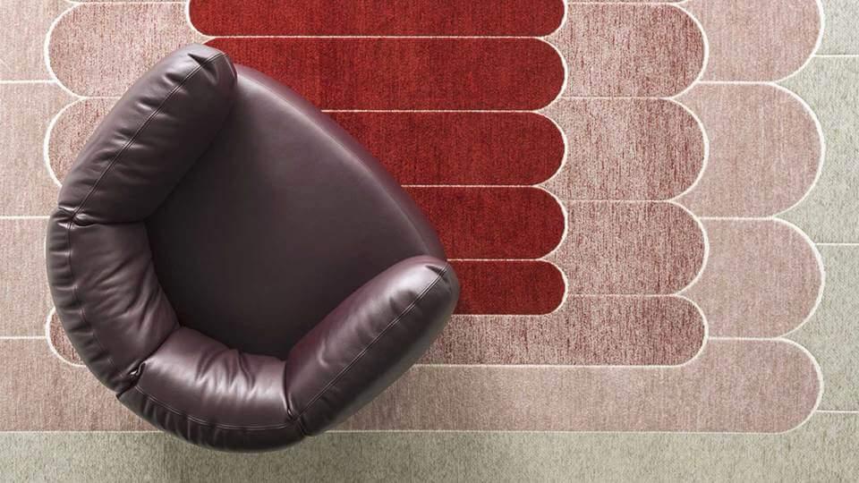 ковер Linee от итальянской фабрики Calligaris итальянская мебель в Одессе