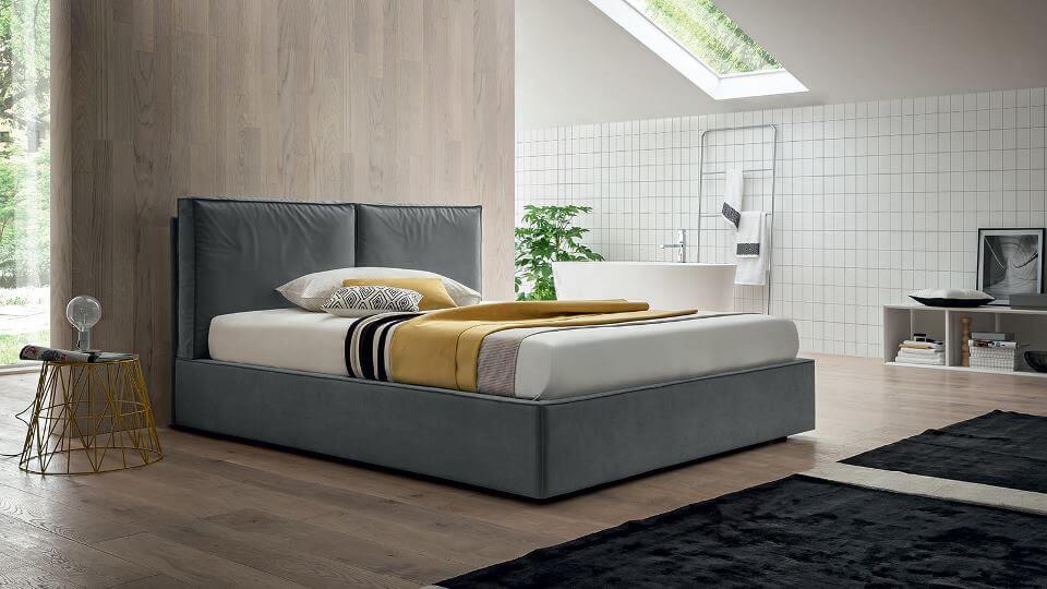 кровать George от итальянской фабрики Felis с подъемным механизмом и коробом для хранения итальянская мебель в Одессе