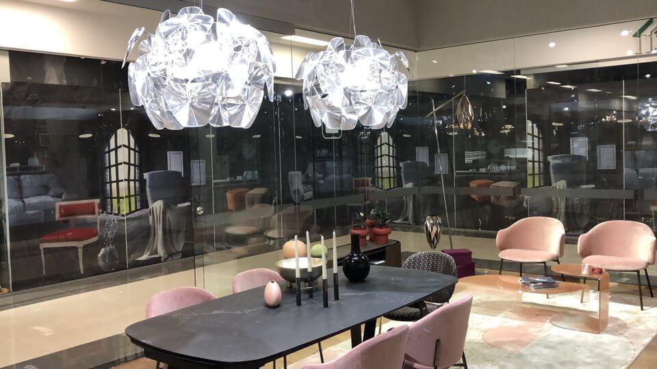 Новинка! В наличии люстра Hope от итальянской фабрики Luceplan. Габариты: 72 х 72 х 54 / 270 итальянская мебель в Одессе